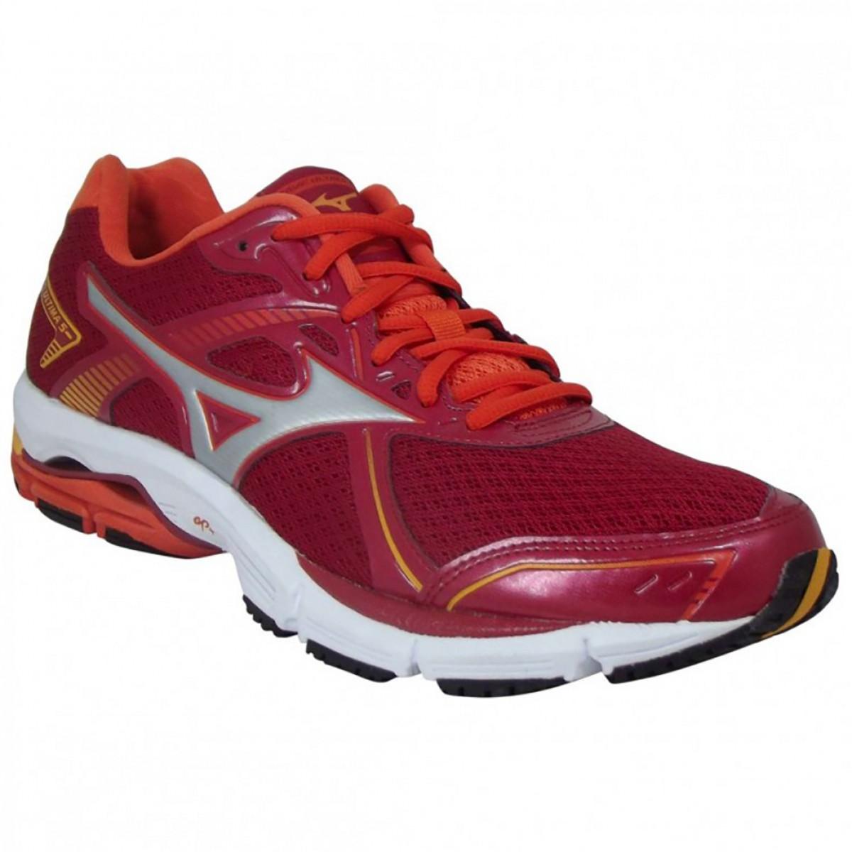 Tênis Mizuno Wave Ultima 5 Masculino Vermelho - Compre Agora ... 528f102215f