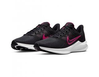 Tênis Nike Downshifter 11 Feminino - Preto e Rosa