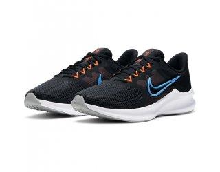 Tênis Nike Downshifter 11 Masculino - Preto e Laranja