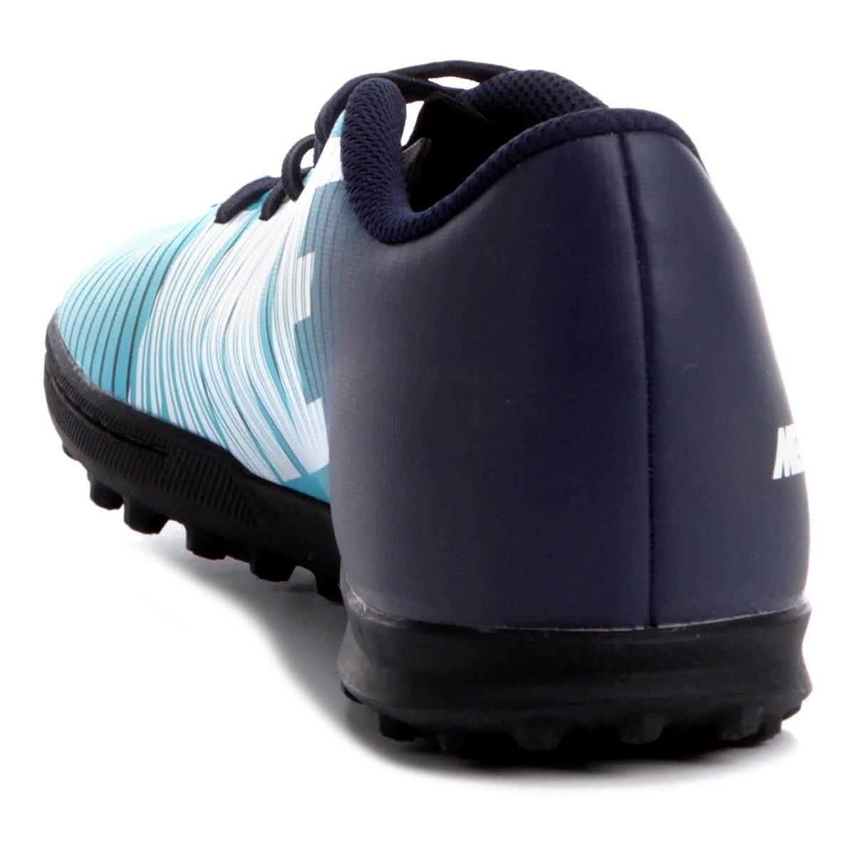 4933b86974f77 ... Chuteira Nike Mercurialx Vortex III Society Masculina - Azul ...