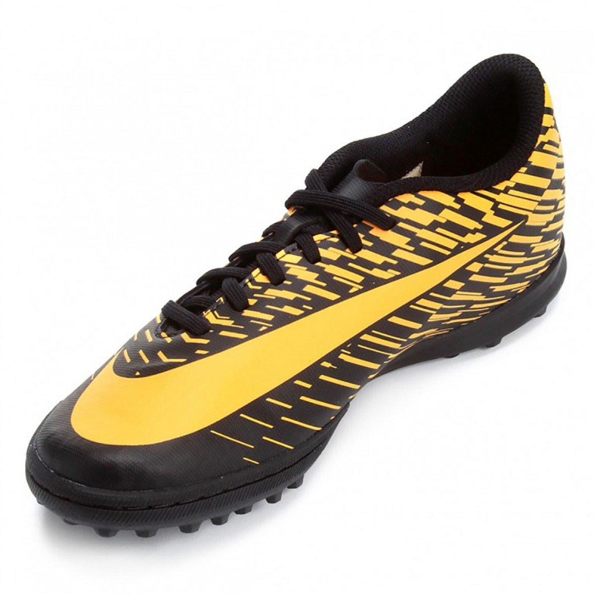 Chuteira Nike Bravatax II Tf Original Laranja - Compre Agora  01ae72ee42019
