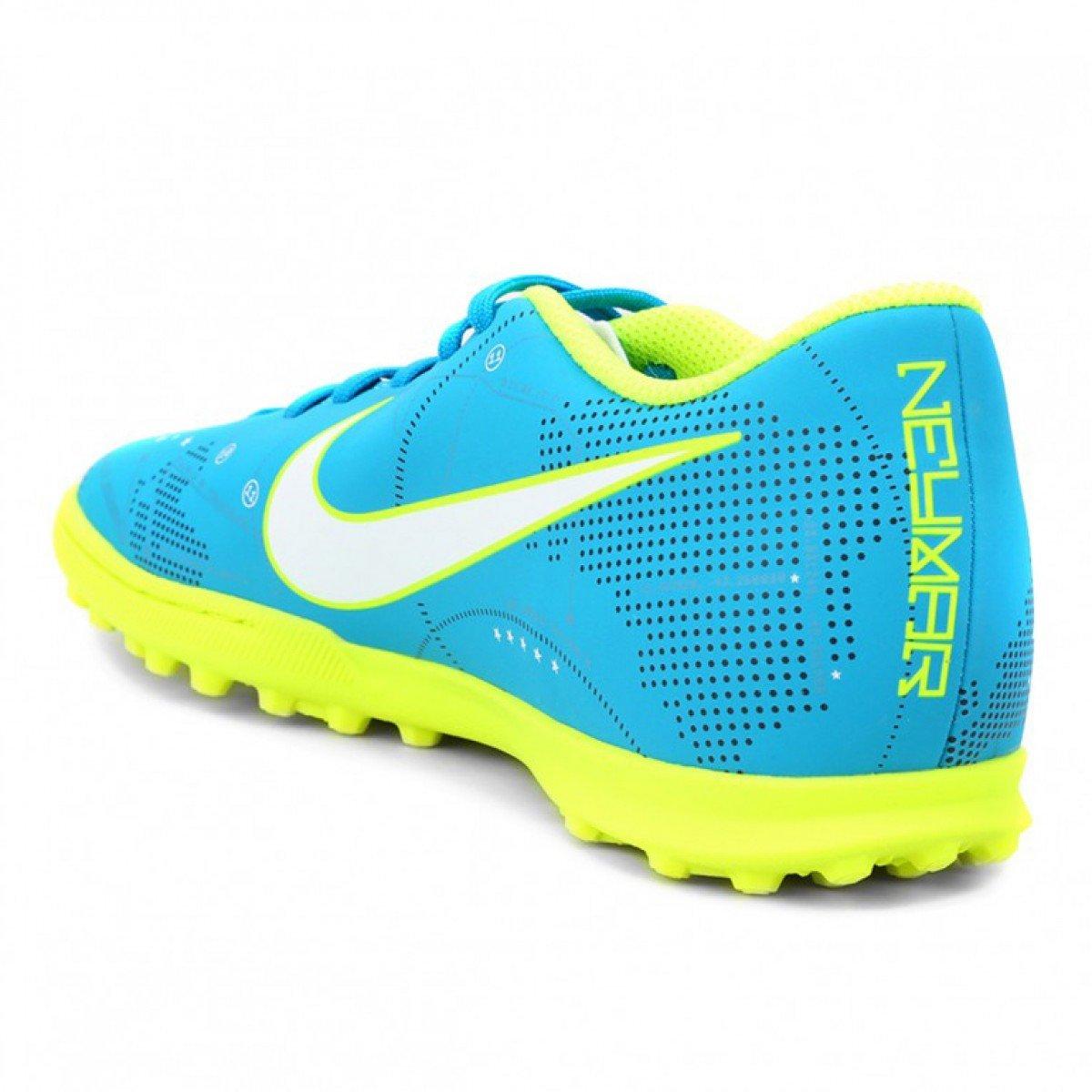 ... Chuteira Nike MercurialX Vortex III Neymar Junior Society - Azul ... 1f065f470f7ec