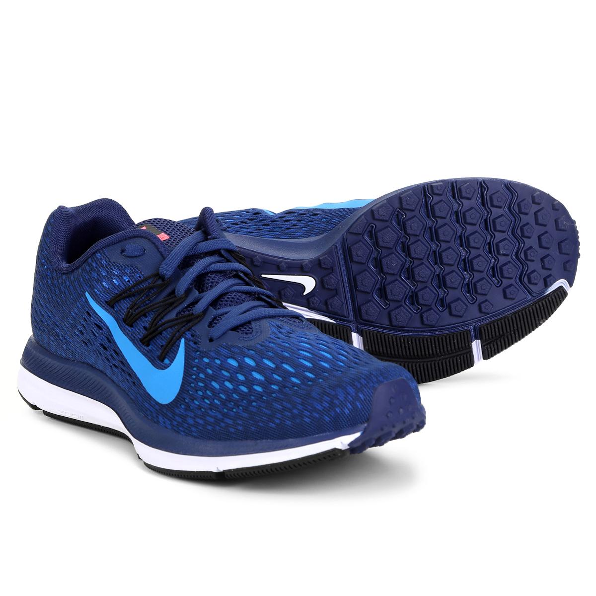 b00afaad61e Tênis Nike Zoom Winflo 5 Masculino Azul - Compre Agora