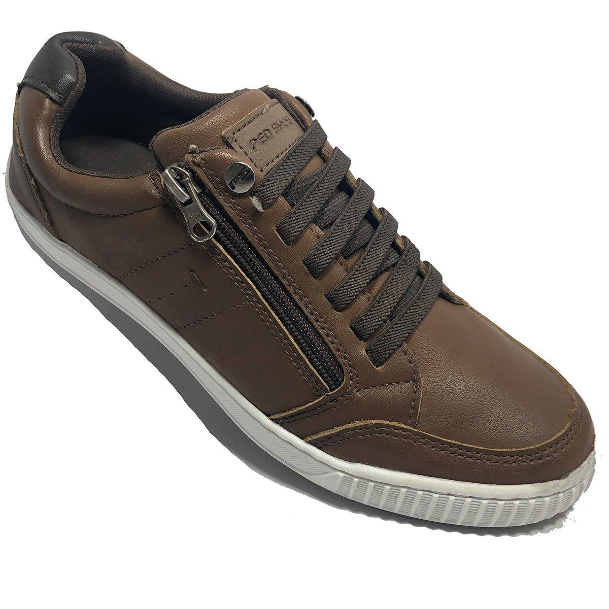 61c40457fb607 Sapatênis Ped Shoes Casual Masculino Marrom e Castanho - Compre ...