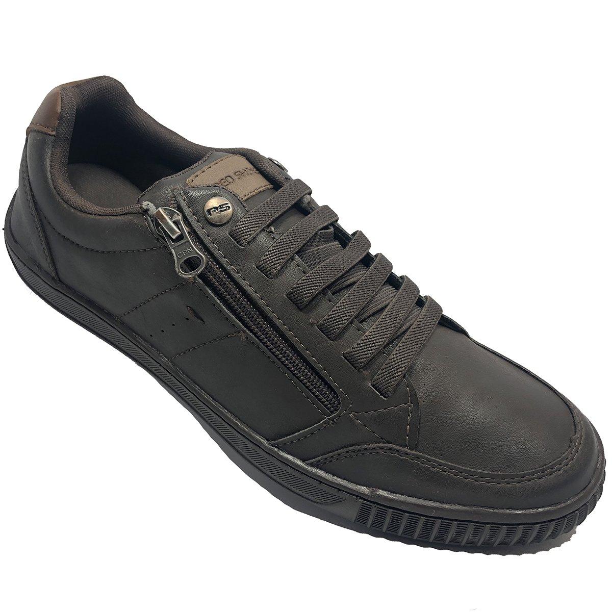 16d5d6656ad Sapatênis Ped Shoes Casual Masculino Café - Compre Agora