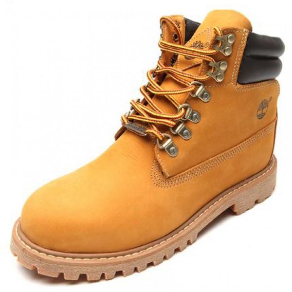 Bota Timberland Brooklyn Boot Masculina - Amarelo