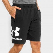 Bermuda Under Armour Sportstyle Graphic Masculina - Preto e Branco