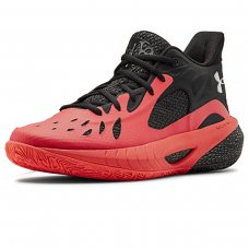 Tênis Under Armour Basquete Hovr Havoc 3 - Preto e Rosa