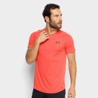 Camiseta Under Armour MK-1 Masculina - Salmão