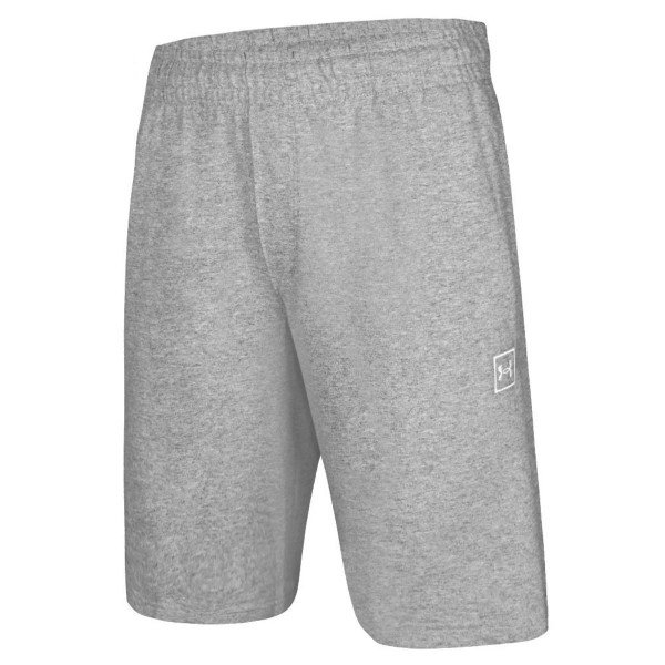 Bermuda Under Armour Terry Masculina - Cinza