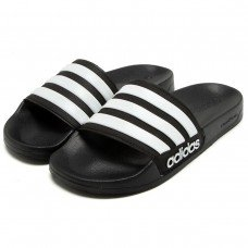 Chinelo Adidas Slide Adilette Performance - Preto e Branco