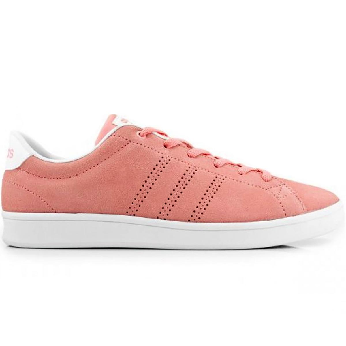460e9fa2bc Tênis Adidas Advantage Clean QT Rosa Feminino - Compre Agora  Cabana ...