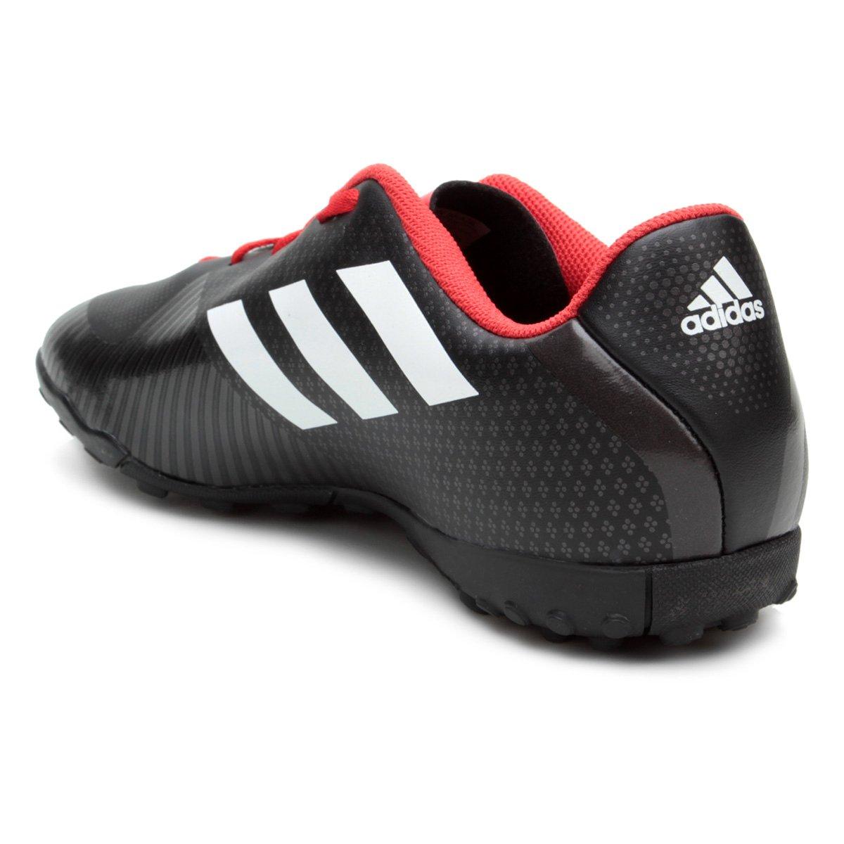 ... Chuteira Society Adidas Artilheira III TF Masculina - Preta e Vermelha  ... 42d647bb3673d