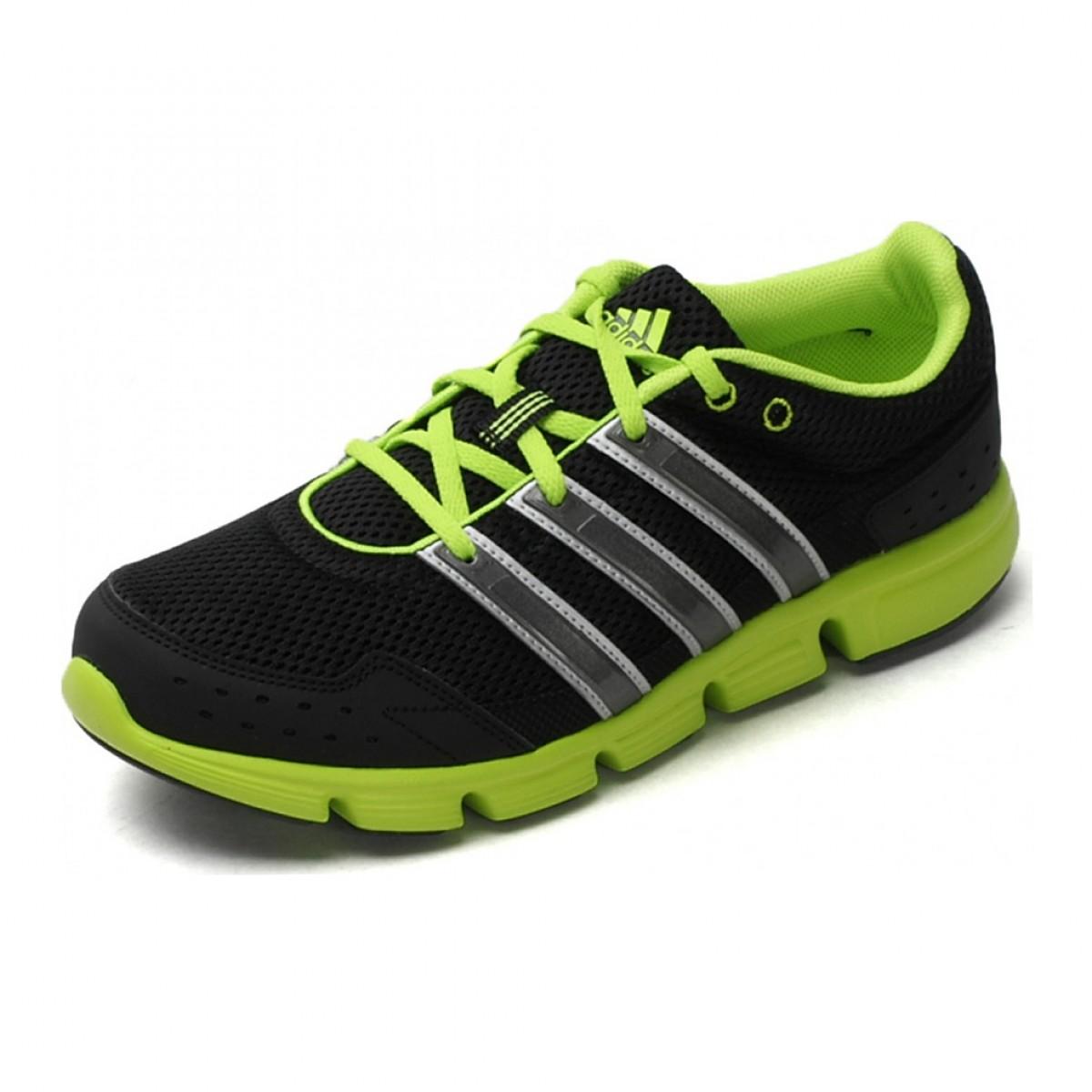10733a0f878 Tênis Adidas Breeze 101 Masculino - Preto e Verde ...