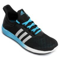 Tênis Adidas CC Sonic Bounce Masculino - Preto e Azul Claro