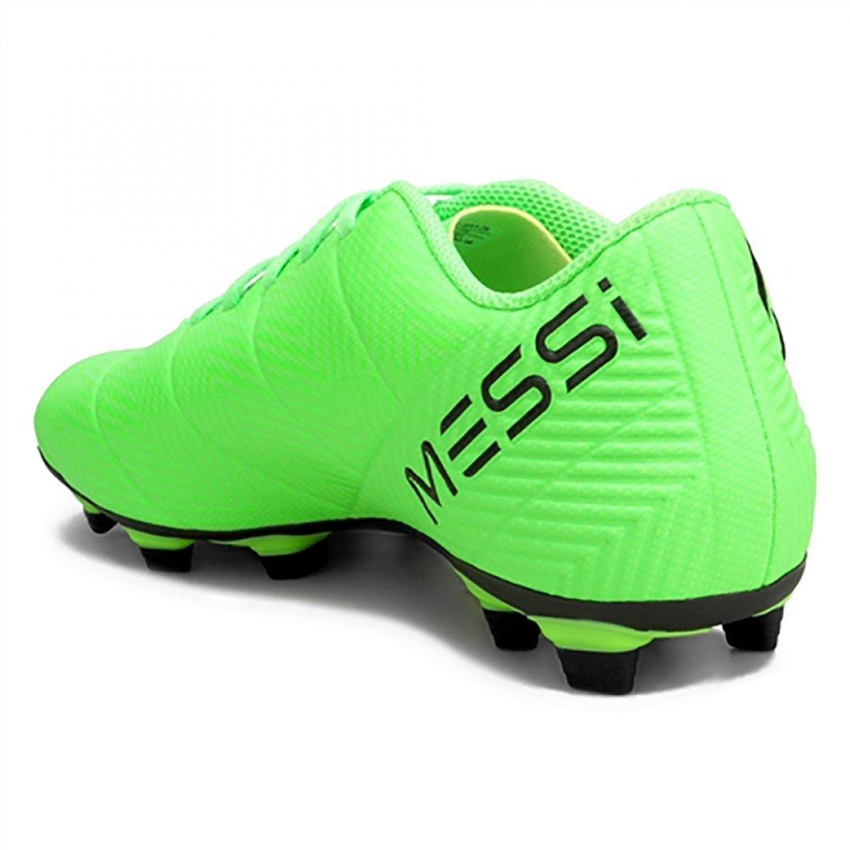 Chuteira Campo Adidas Nemeziz Messi 87.4 FxG Verde - Compre Agora ... 0da62ed034965