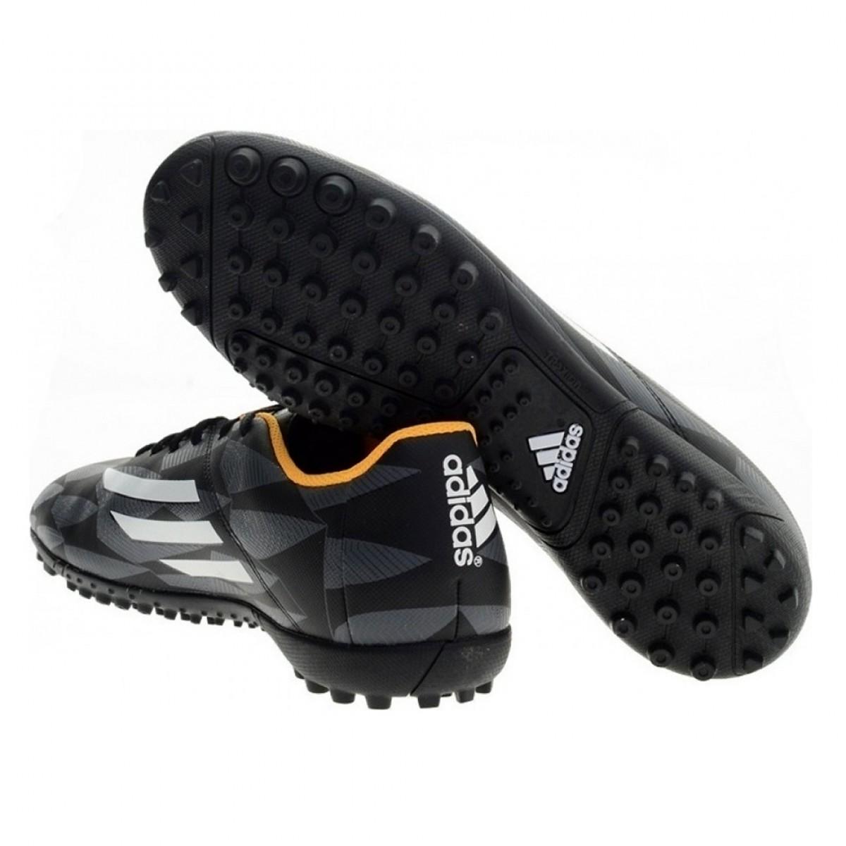 Chuteira Society Adidas F5 TF Masculina Preto Amarelo - Compre Agora ... 27c9af09571cc