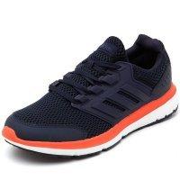 Tênis Adidas Galaxy 4 Masculino - Marinho e Laranja