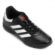 Chuteira Society Adidas Goletto 6 TF Masculina - Preta e Branca