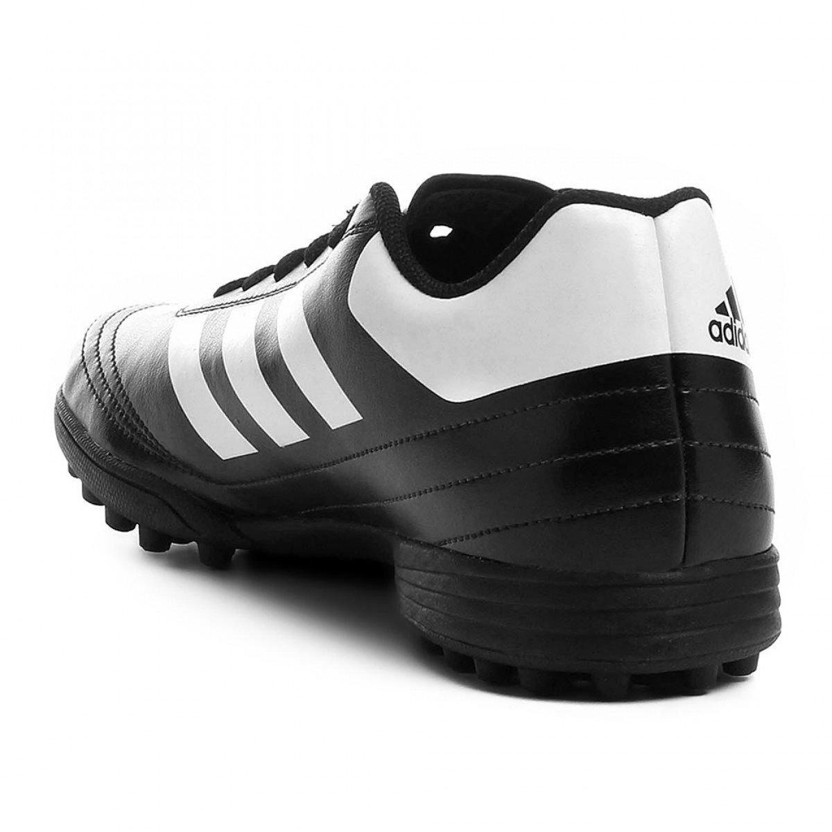 d7c74b494e ... Chuteira Society Adidas Goletto 6 TF Masculina - Preta e Branca ...