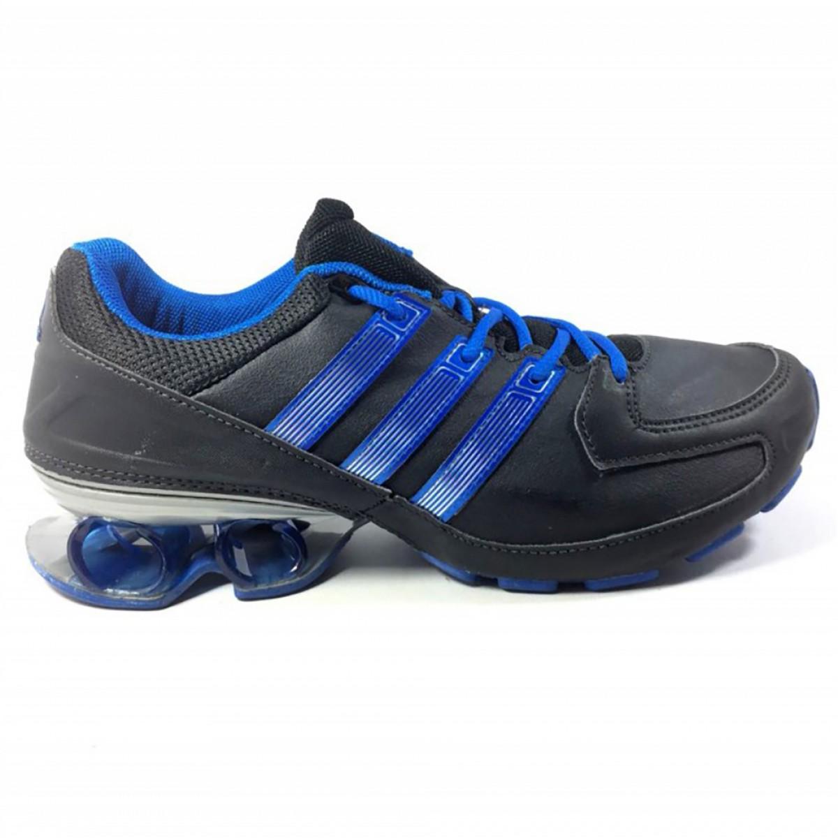 979030b5ef2 ... Tênis Adidas Komet Syn Masculino - Preto e Azul ...