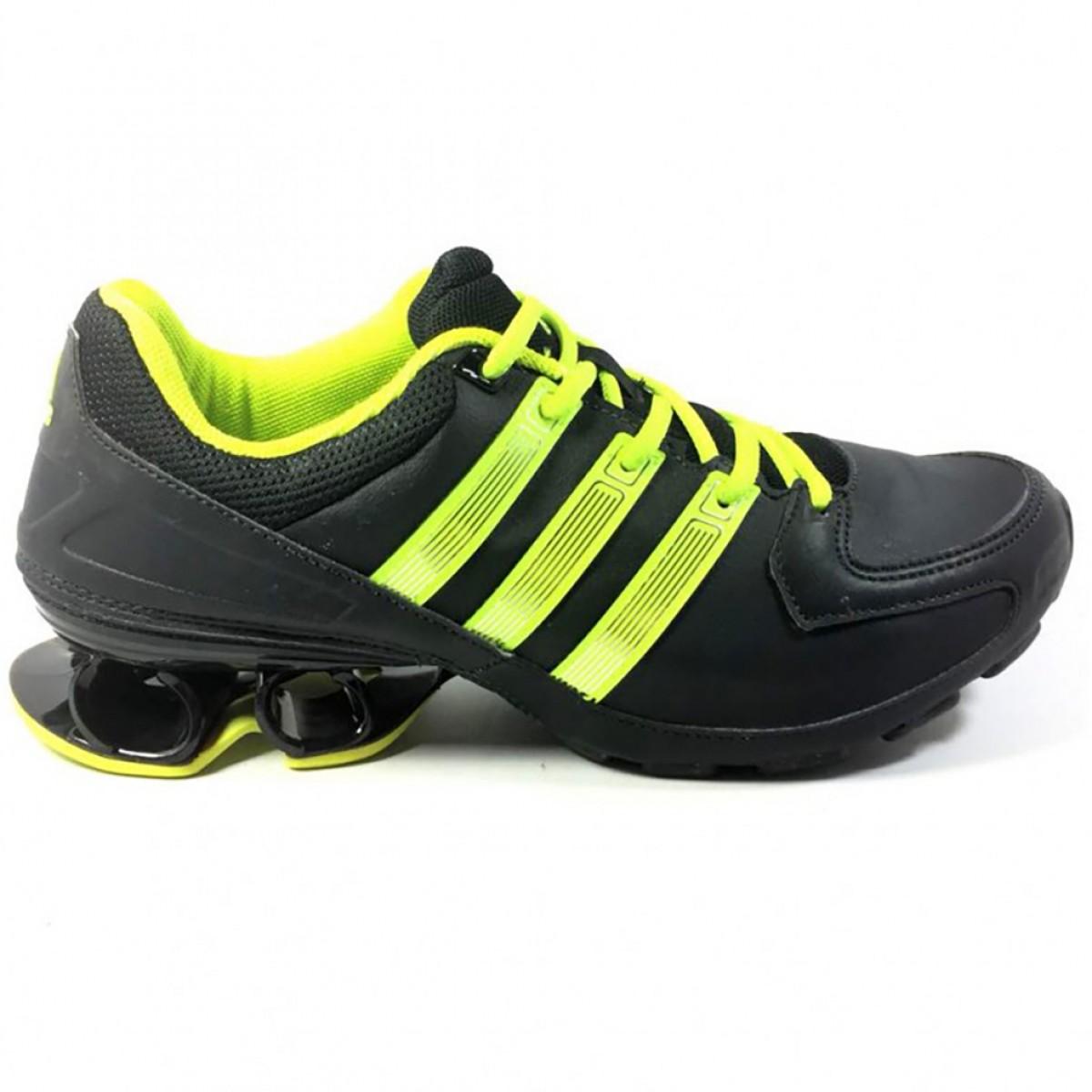 Tênis Masculino Adidas Komet Syn Preto e Verde - Compre Agora ... 4c243bb0d16e4