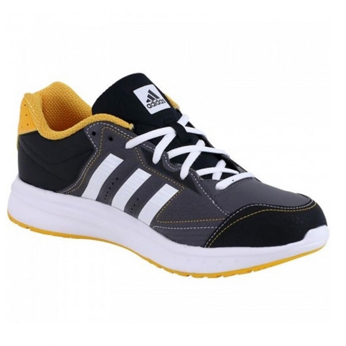 849fa6ac95 Tênis Masculino Adidas Multisport TR Grafite Amarelo - Compre Agora ...