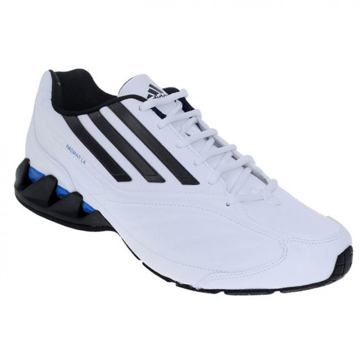 e584fffa6 Tênis Adidas Radiant LA Masculino Branco E Preto Compre Agora
