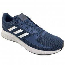 Tênis Adidas Runfalcon 2.0 Masculino - Azul e Branco