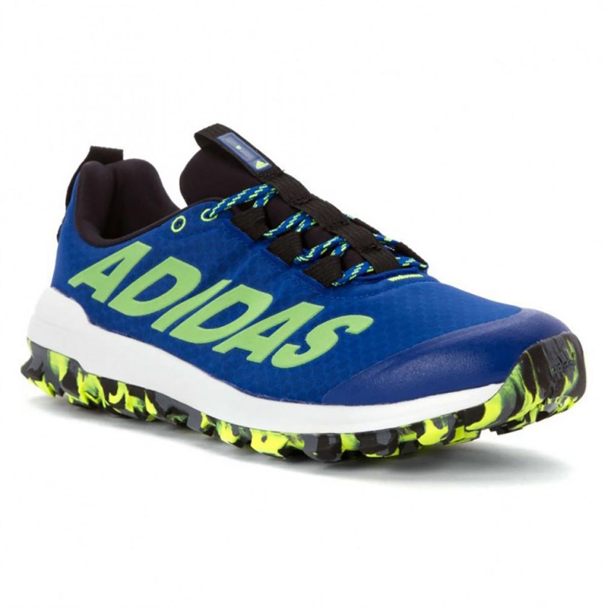 e3490bde36e Tênis Adidas Vigor 6 Tr Masculino Azul e Verde - Compre Agora ...