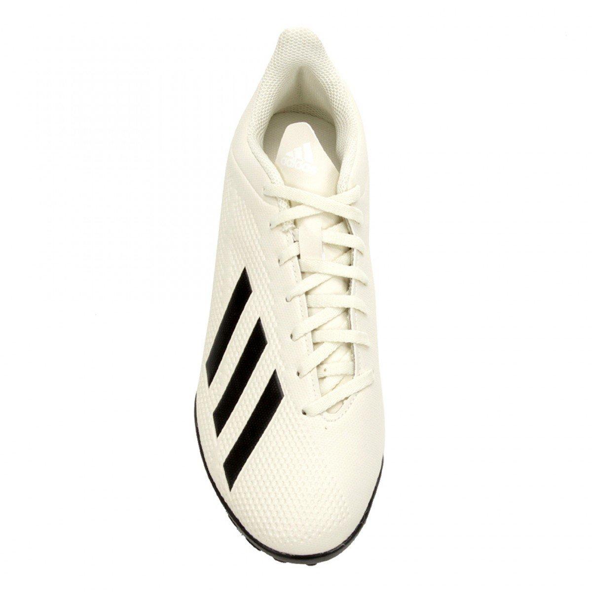 4b9b00184023a ... Chuteira Society Adidas X Tango 18 4 TF Masculina - Branca e Preta ...