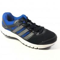 Tênis Adidas Duramo 6 Masculino - Preto e Azul