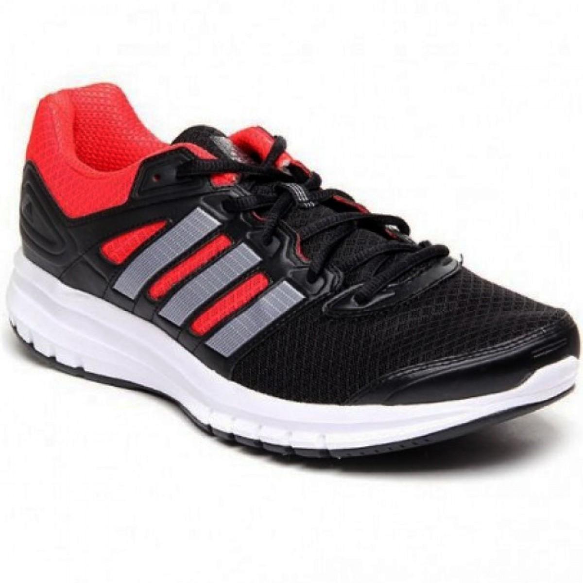 5d96b9a6840 Tênis Adidas Duramo 6 Preto Vermelho Masculino - Compre Agora ...