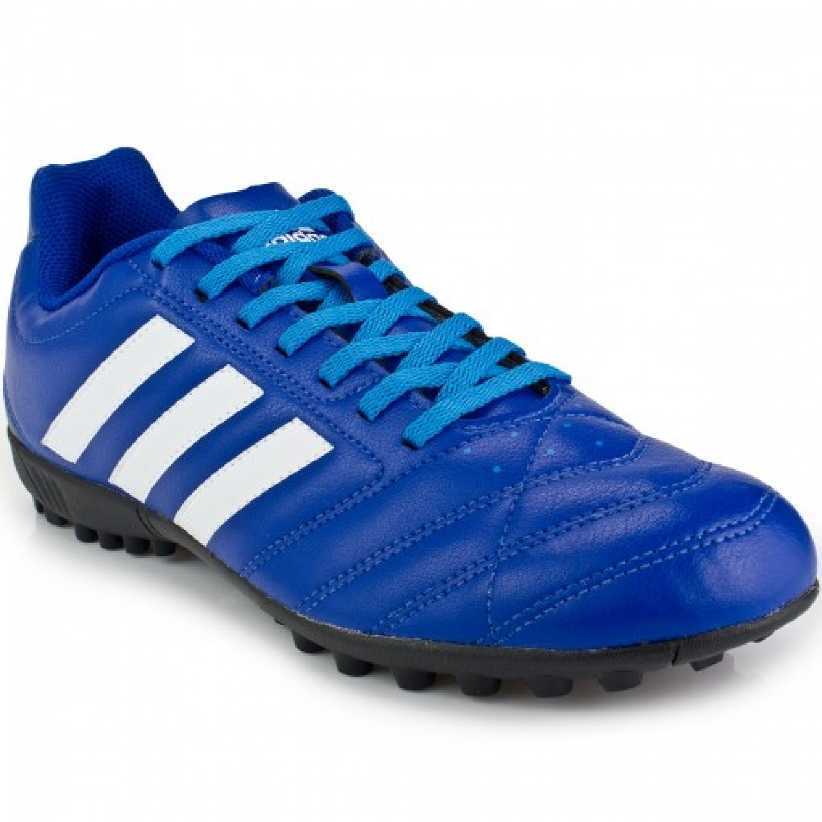 Chuteira Society Adidas Goletto V Tf Azul - Compre Agora  1394c43c9e183