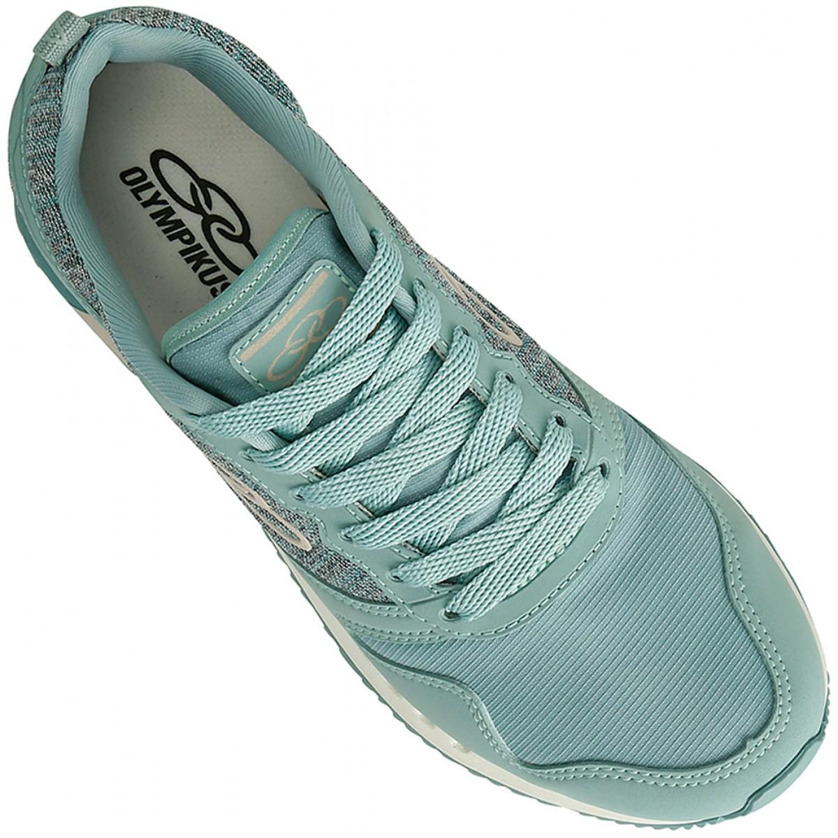 28e8f650c31 Tênis Olympikus Flashback 484 Verde Água Feminino - Compre Agora ...