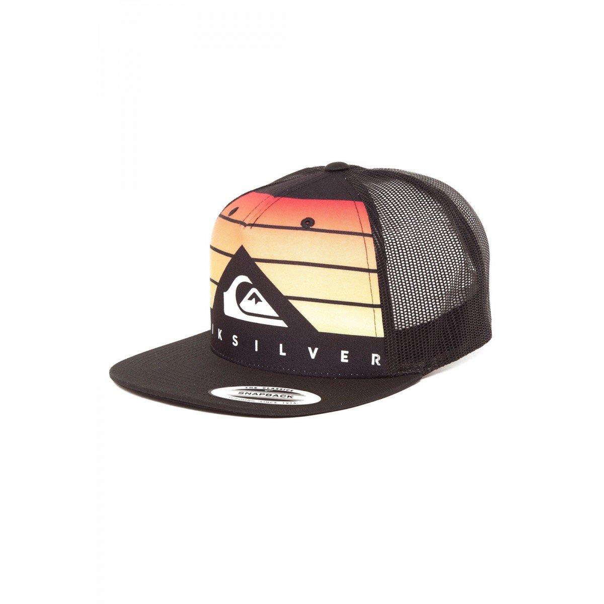 Boné Quiksilver Aba Curva Allover Q Logo Preto Vermelho - Compre ... a44a5188a6b