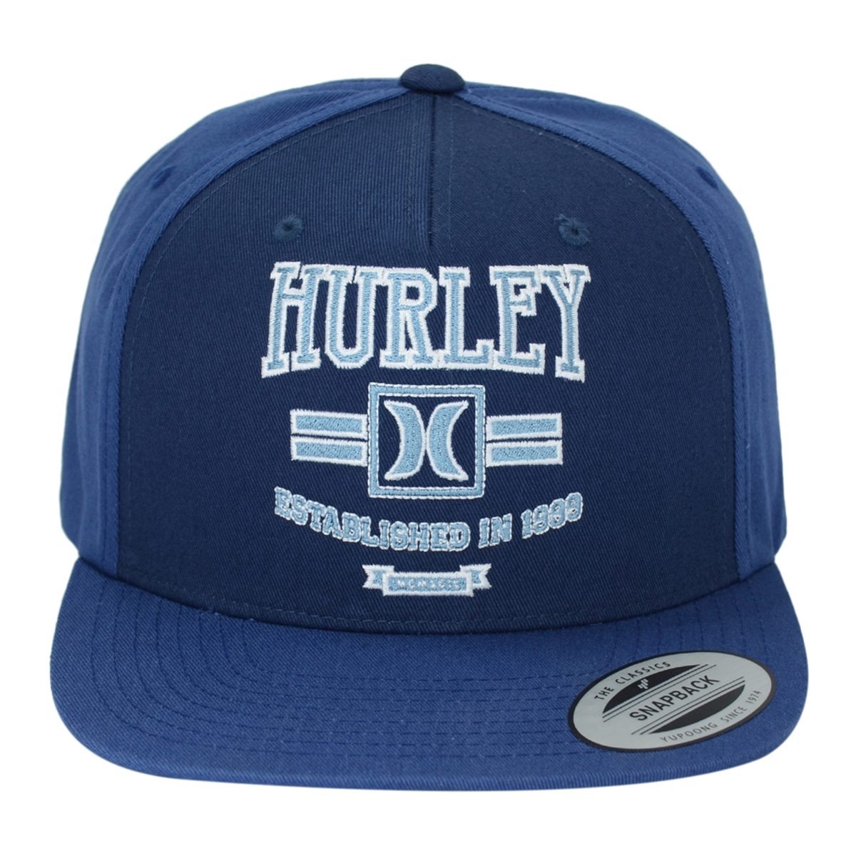 Boné Hurley Snapback Logo Azul Masculino