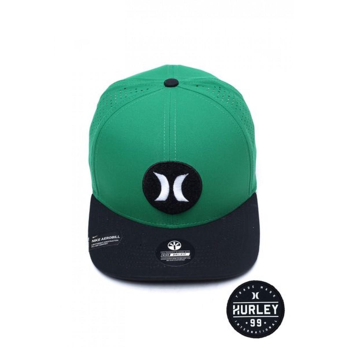 Boné Masculino Hurley Dri Fit Thirdeyes Verde - Compre Aqui  be0168703e9