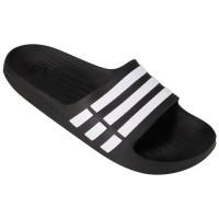 Chinelo Adidas Duramo Slide Masculino - Preto e Branco