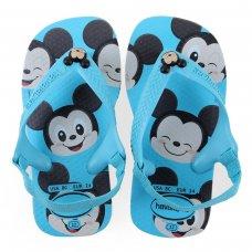 Chinelo Infantil Havaianas New Baby Disney Classic - Azul