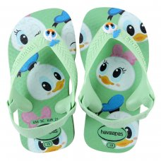 Chinelo Infantil Havaianas New Baby Disney Classic - Verde
