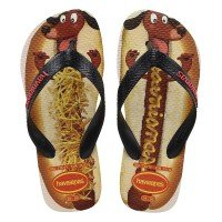 Chinelo Infantil Havaianas Kids Fast Food - Branco