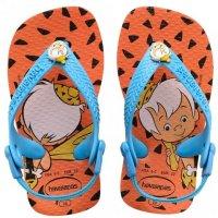 Chinelo Infantil Havaianas Baby Flintstones - Laranja