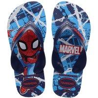 Chinelo Havaianas Kids Max Marvel - Marinho
