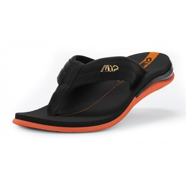 Chinelo Kenner Action Gel M12 Masculino - Preto