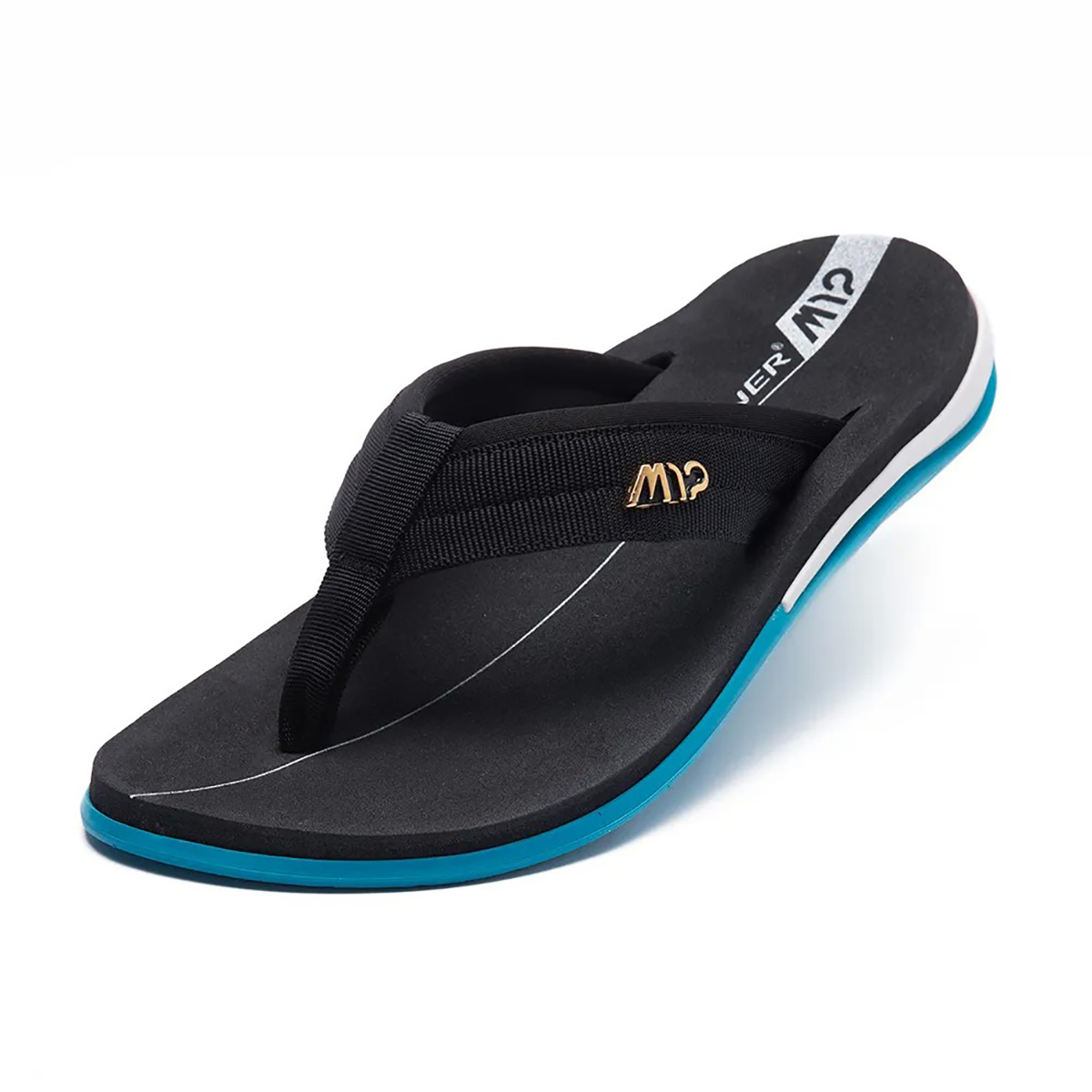 Chinelo Kenner Action Gel M12 Masculino - Preto e Azul