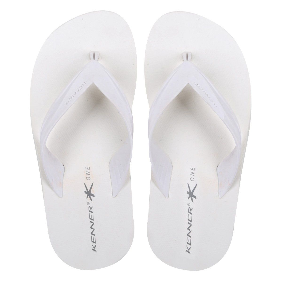 Chinelo Kenner One Club Colors Masculino - Branco