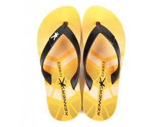 Chinelo Kenner Summer Sport TIS Masculino - Amarelo