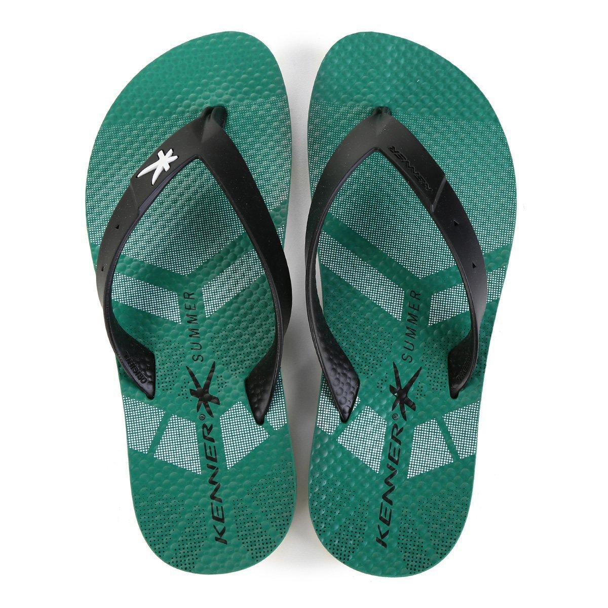 Chinelo Kenner Summer Sport TIS Masculino - Verde