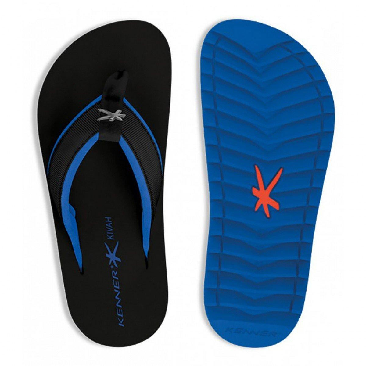bb25ce803 Sandália Kenner Kivah Cushy TKH 01 Azul - Compre Agora